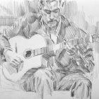 Acoustic guitarist #1