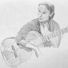 Classical guitarist #7