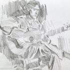 Flamenco guitarist #37