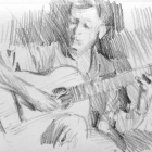 Classical guitarist #1