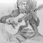 Flamenco guitarist #39