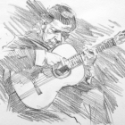 Flamenco guitarist #4 - Sabicas