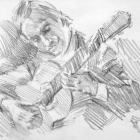 Flamenco guitarist #42