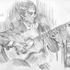 Flamenco guitarist #43