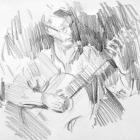 Classical guitarist #9