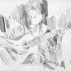 Classical guitarist #10