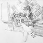 Flamenco guitarist #44