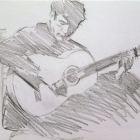Flamenco guitarist #11