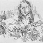 Flamenco guitarist #33