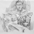 Flamenco guitarist #34