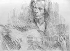 Flamenco guitarist #3 - Paco de Lucia